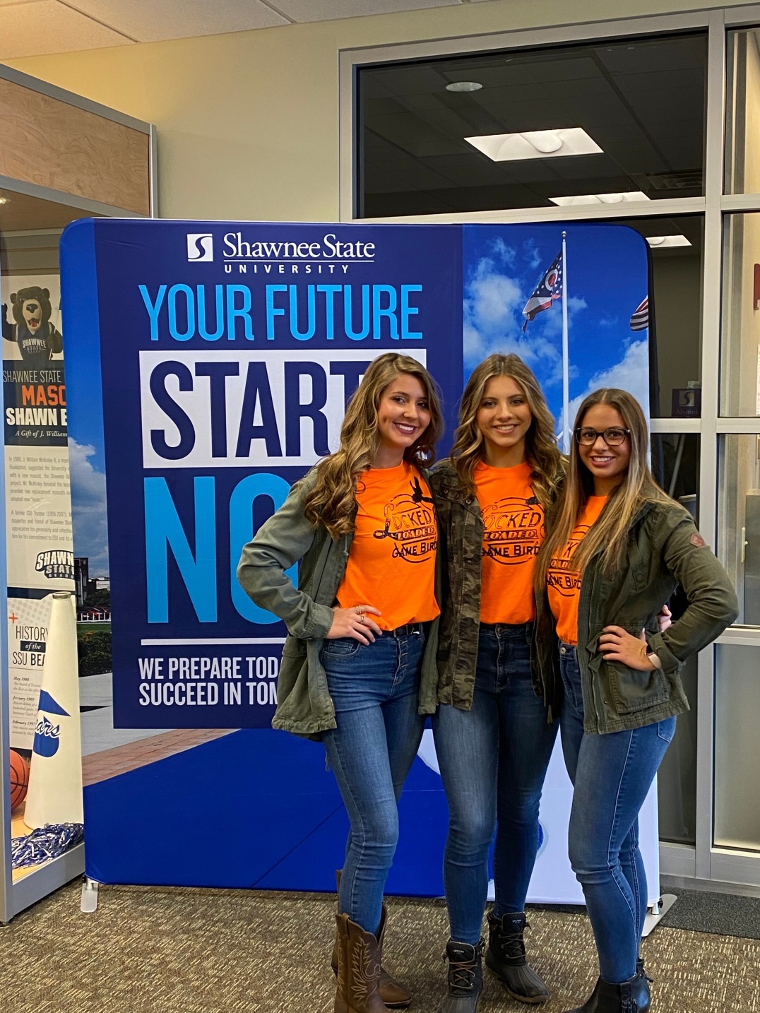 Jasmine Webb, Autumn Jeffrey, and Gracie Bates took home the 1st Place Prize at the 2021 Glockner Dare to Dream high school business pitch competition!